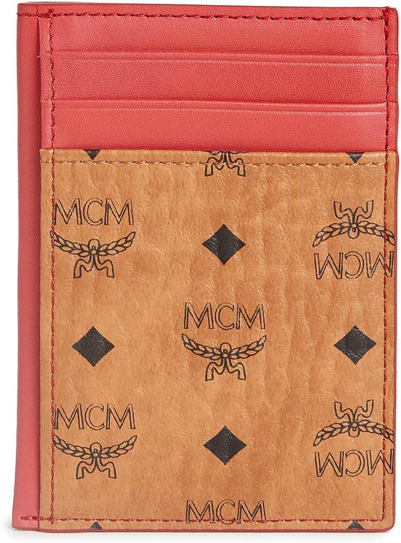MCM Men's Visetos Original Card Case Mini