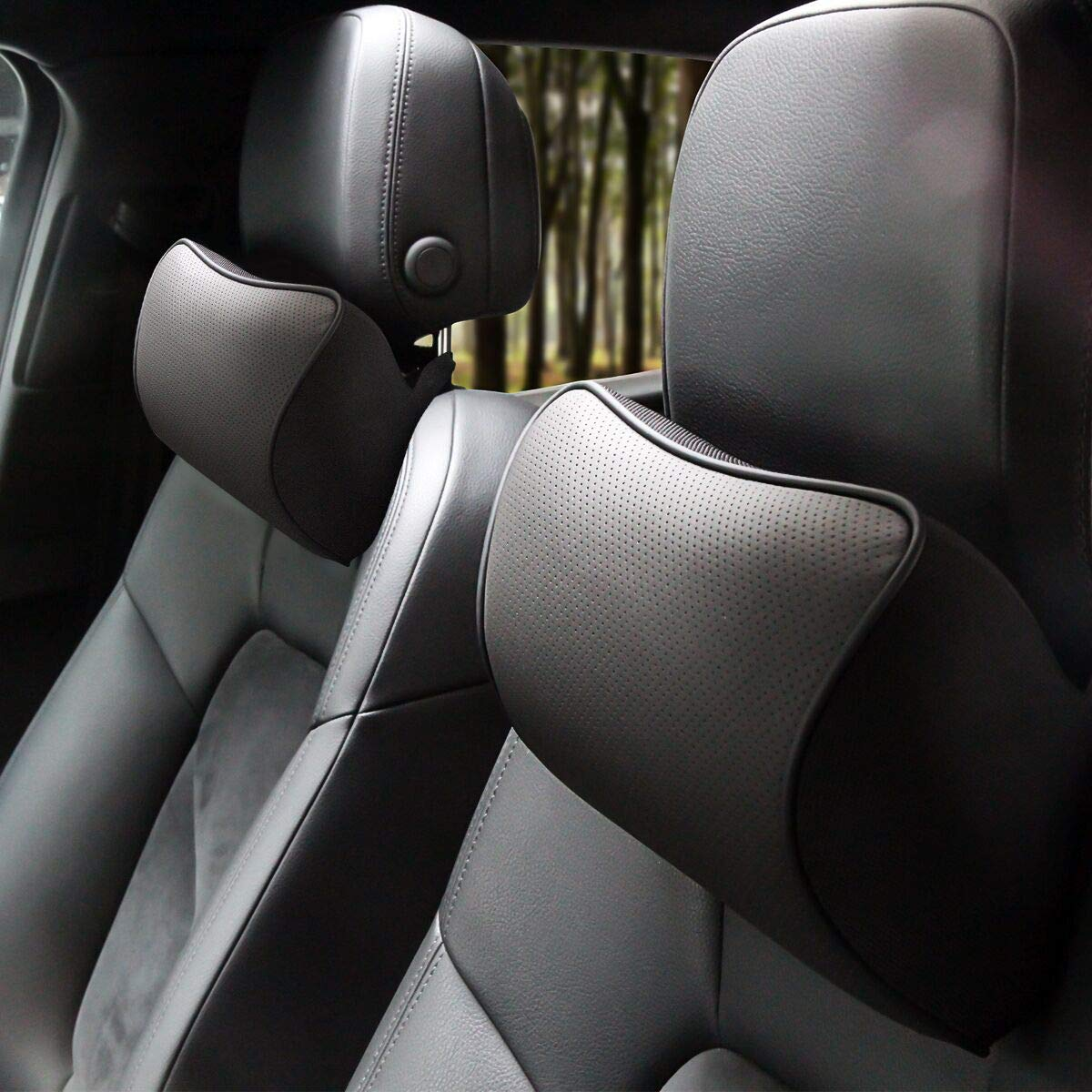 Aukee Headrest Genuine Leather Supplier