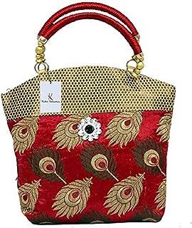 Kuber Industries Women's Cotton Handbag, Multicolour (KI007403)