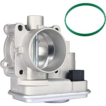 Electronic Throttle Body Assembly with IAC TPS | for Dodge Avenger Caliber Journey Chrysler 200 Sebring Jeep Cherokee Compass Patriot | Replace # 04891735AC 4891735AC 4891735AB 4891735AD