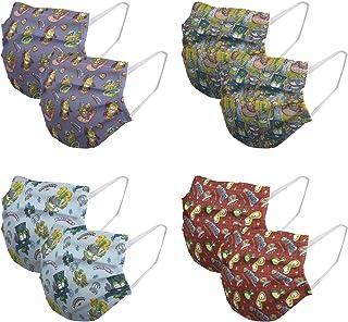 Mascarillas para niños Higienizantes Reutilizables con licencia - 10 lavados - Fabricadas en España (6-9 años, Superzings)
