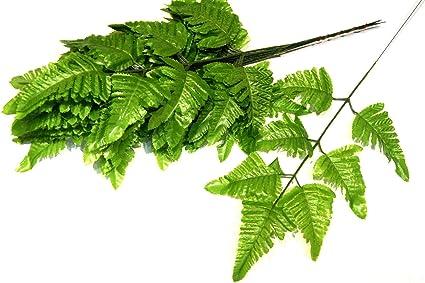 Mosaiksteine Farn grün Blätter 2 verschiedene Varianten