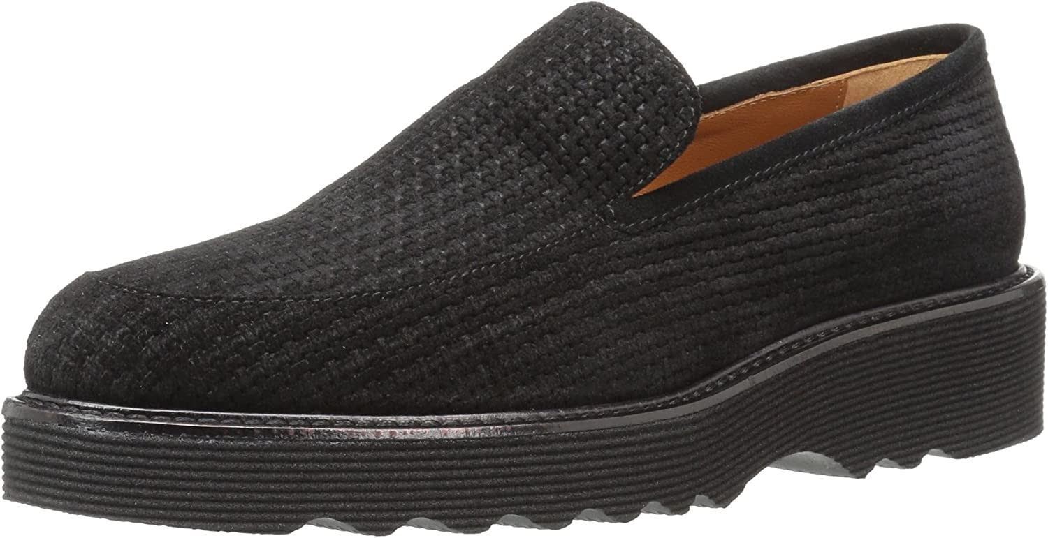 Aquatalia Womens Kelsey Mini Emboss Suede Loafer