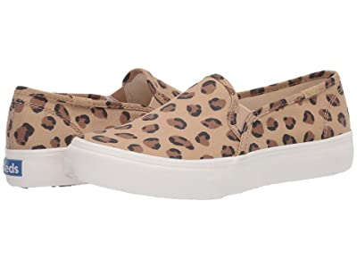 Keds Double Decker Leopard (Tan/Black) Women