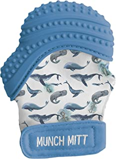 Munch mitt Munch Mitt- Whales - Water Color Collection, Pack of 1, MM21W