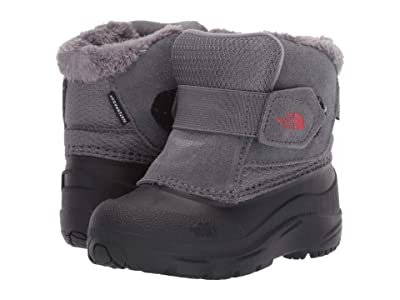 The North Face Kids Alpenglow II (Toddler) (TNF Black/Zinc Grey) Kids Shoes