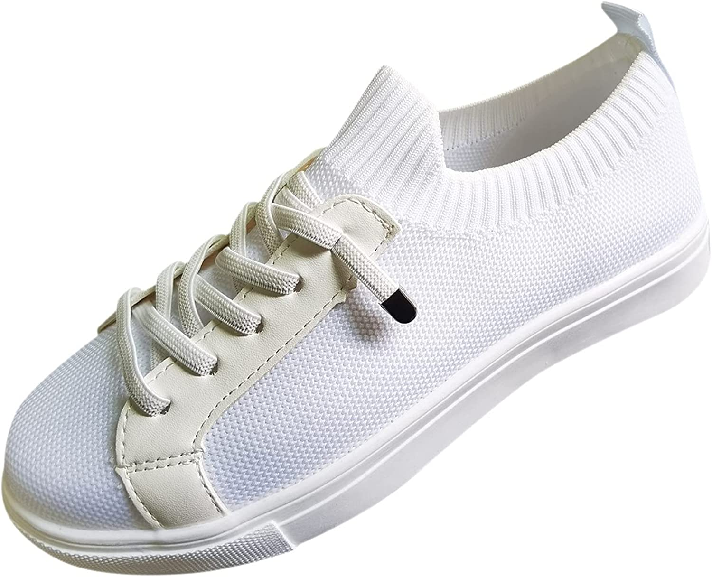 Breathable red shoes for women heels Slip On Memory Foam women's slip on walking shoes lightweight casual running snea