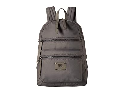 Frye Ivy Backpack (Matte Grey) Backpack Bags