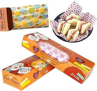 Papel de Envoltura de Alimentos, Envoltorios de Tartas, Papel Encerado para Alimentos, Papel Encerado a Prueba de Grasa, d...
