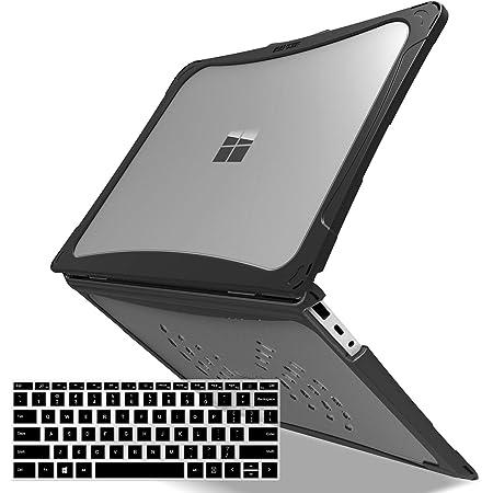 US-Layout weiche TPU-Tastatur-H/ülle transparent Lapogy Tastatur-Abdeckung f/ür Microsoft Surface Laptop Go 12,4 Zoll Zubeh/ör ultrad/ünn Surface Laptop Go 2020 2020