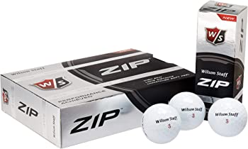Wilson Staff Zip Golf Balls