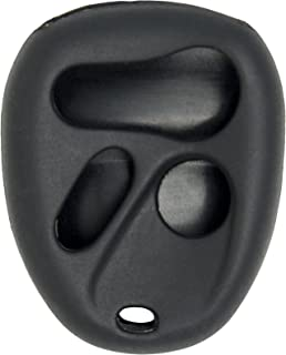 New Silicone Cover Protective Case for Select GM 4 Button Remotes - Black
