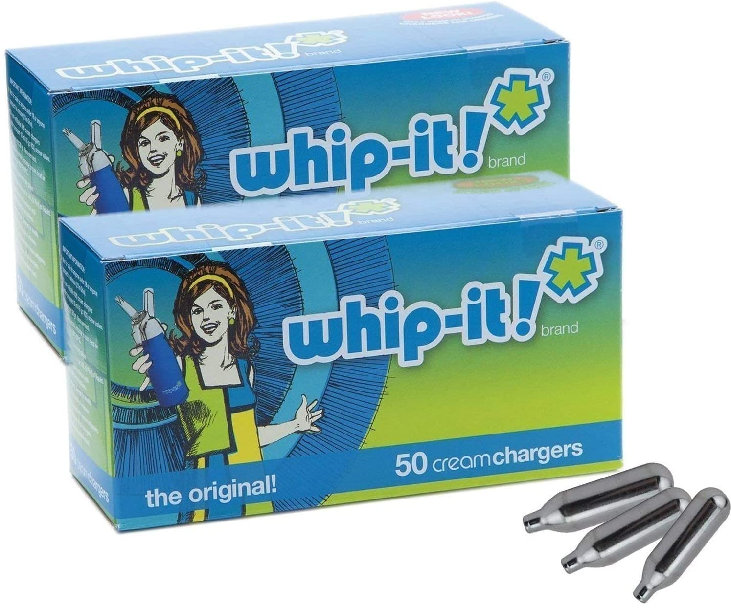 Max 63% OFF Whip-It Brand: The Original Rapid rise Whipped PACK Cream Chargers 100