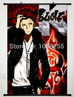 BestWeeks Home Decor Anime K Project Wall Scroll Poster Fabric Painting Mikoto Suoh -020