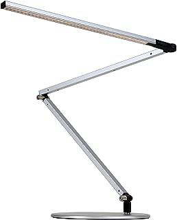 Koncept AR3000-C-SIL-DSK Z-Bar LED Desk Lamp, Cool Light, Silver