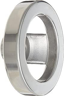 2 Spoked Polished Aluminum Dished Hand Wheel Without Handle, 4