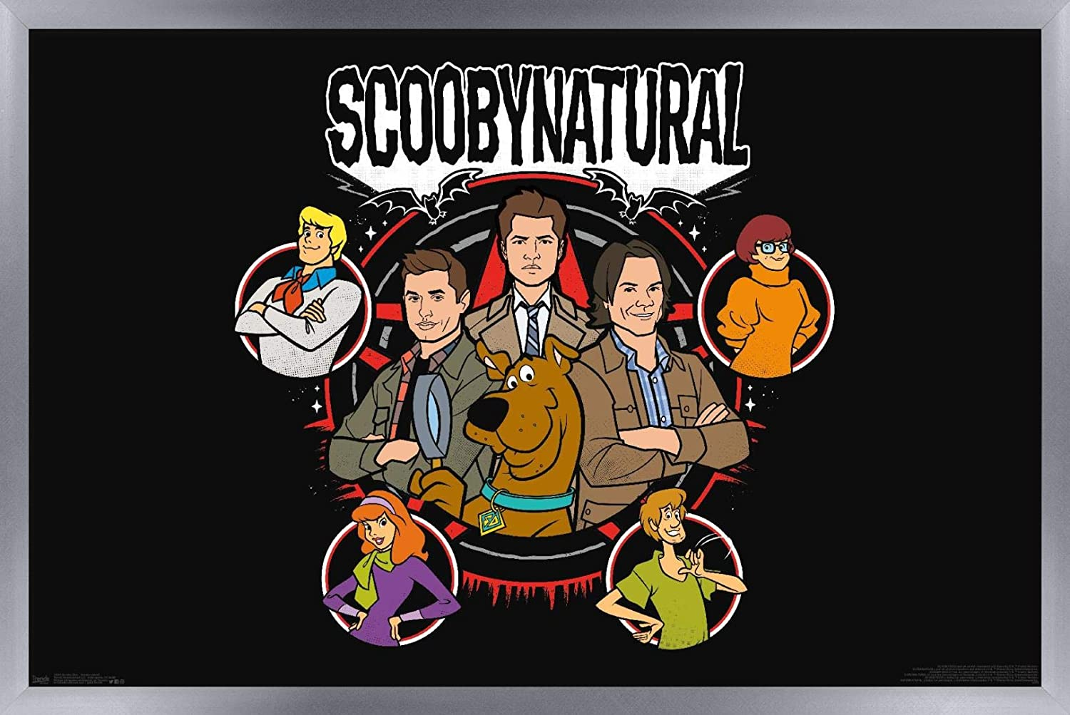 Trends Chicago Mall International Scooby-Doo - Scoobynatural Wall 22. Online limited product Poster