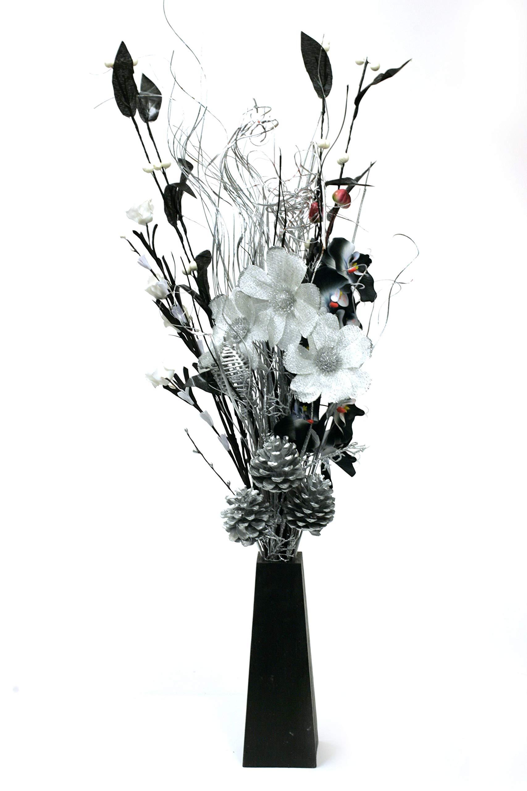225 & Black and White Vase: Amazon.co.uk
