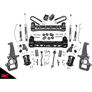 324S 6-inch Suspension Lift System w// Performance 2.2 Shocks Rough Country
