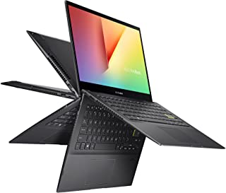 """ASUS VivoBook Flip 14 Thin and Light 2-in-1 Laptop, 14"""" FHD Touch, 11th Gen IntelCore i3-1115G4, 4GB RAM, 128GB SSD, Thun..."""