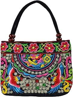 Amazon.es: bolso bordado - Carteras / Para mujer: Equipaje
