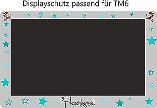 Displaybeschermfolie voor TM6 heksenketel heks turquoise