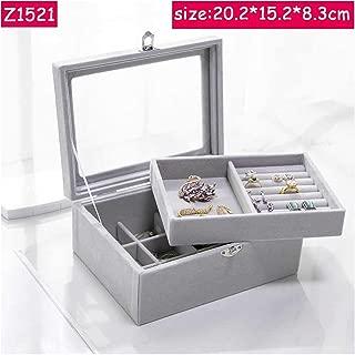 frameless glass jewelry display case