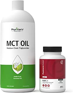 Dr Approved MCT Oil + Antarctic Krill Oil - 1000 mg