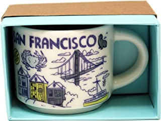 San Francisco Starbucks Been There Series Ornament 2oz Cup