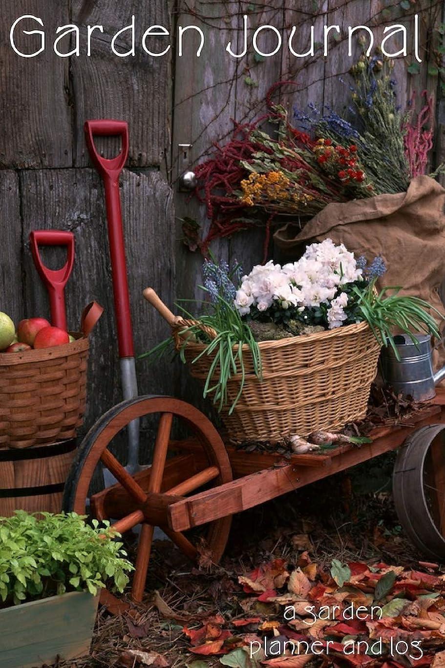 ヘロイントマトデュアルGarden Journal: a garden planner and log