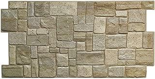 Revestimiento pared panel pared de PVC imitación piedra