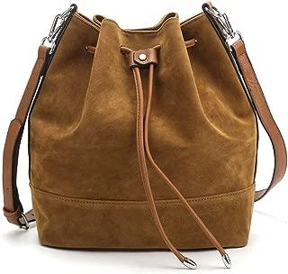 bucket style handbag