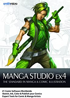 Manga Studio EX 4 for Mac [Download]