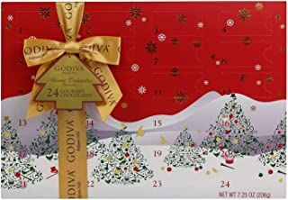 Godiva Countdown Calendar Red Box 7.25 Oz,, ()
