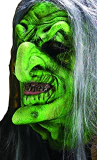 Rubie's Reel FX Green Witch Theater Quality Makeup Costume Mask