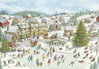 Ravensburger Playful Christmas Day 15290 1000 Piece Holiday Puzzle for Adults, Every Piece is Unique, Softclick Technology Means Pieces Fit Together Perfectly