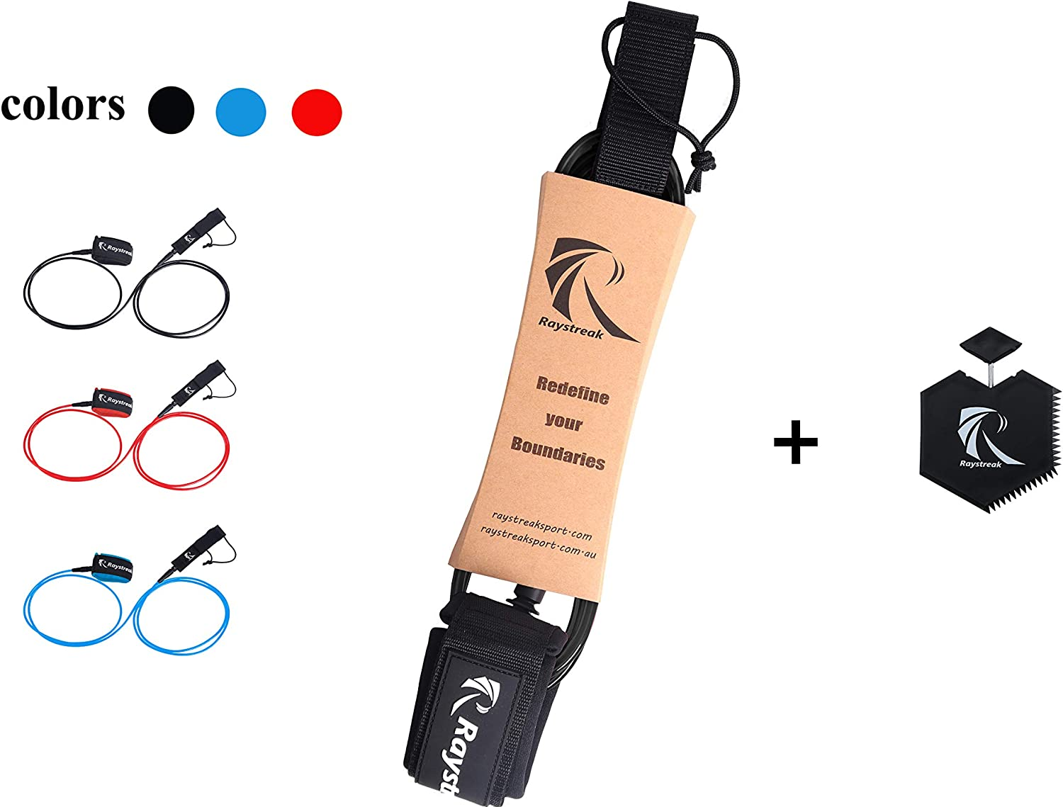Raystreak Premium Surfboard Arlington Mall SUP All items free shipping Paddleboard RED Leash Blue with
