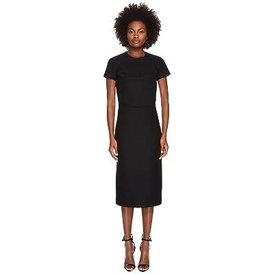 DSQUARED2 Amish Jersey Short Sleeve Dress (Black) Women