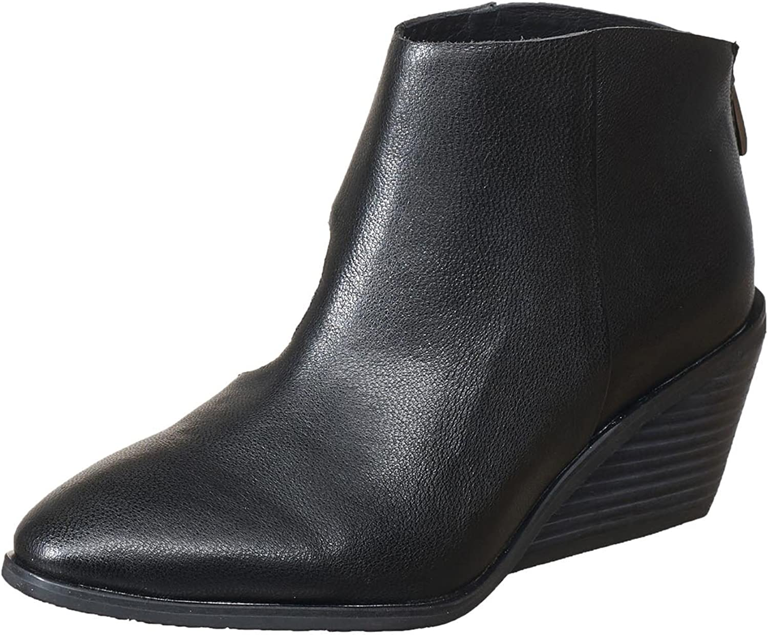Antelope Women's 582 Black Leather Nu Ankle Bootie 40