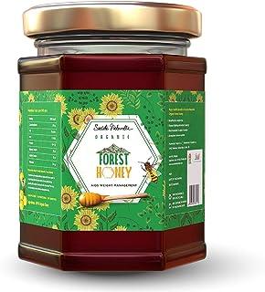Societe Naturelle - Forest Organic Honey - 340gms / Aids Weight Management / Certified Honey / Pure Raw Unpasteurized Unpr...