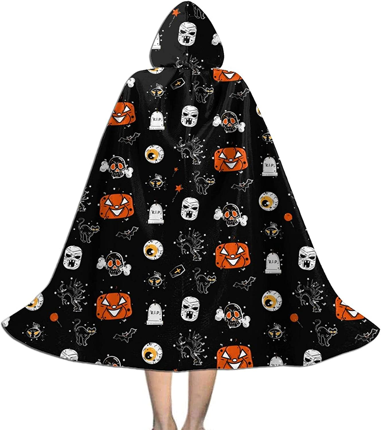 Custom Hooded Halloween Cloak discount For Cape Cap Personalized Max 40% OFF Kids