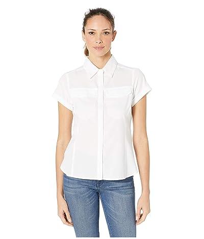 Columbia Silver Ridge Lite Short Sleeve Shirt (White) Women