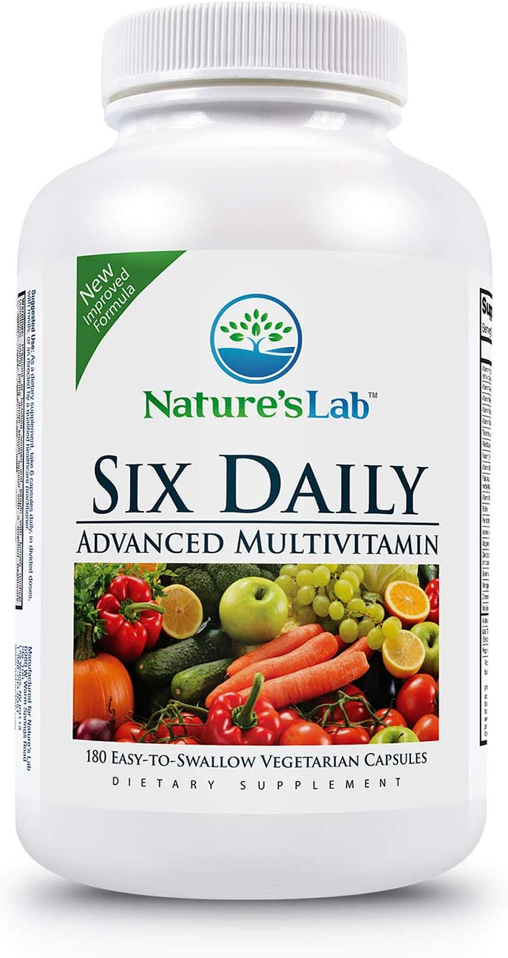 Nature's Lab Six 与え Daily Advanced Multivitamin Over 90 信用 Qual - High