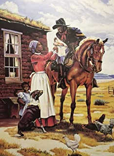 One For The Road - Alix Beaujour 24x32 Unframed - Buffalo Soldier African American Black Art Print Wall Decor Poster #9a5