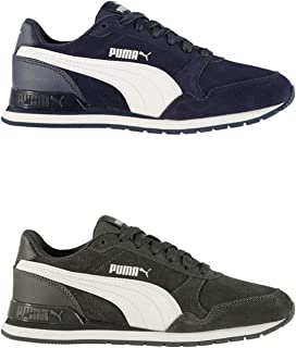 Official Brand Puma ST Runner v2 Suede Trainers Juniors Boys Shoes Sneakers Kids Footwear