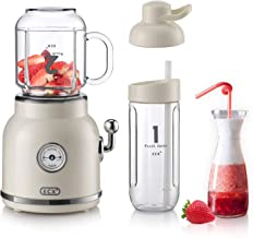 Personal Blender for Shakes and Smoothies, ECX Portable Blender with 6 Sharp Blades, Smoothie Blender with 20.3 oz Tritan ...
