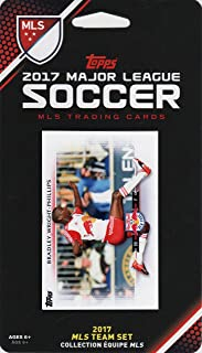 New York Red Bulls 2017 Topps MLS Soccer Factory Sealed 8 Card Team Set with Bradley Wright Phillips plus