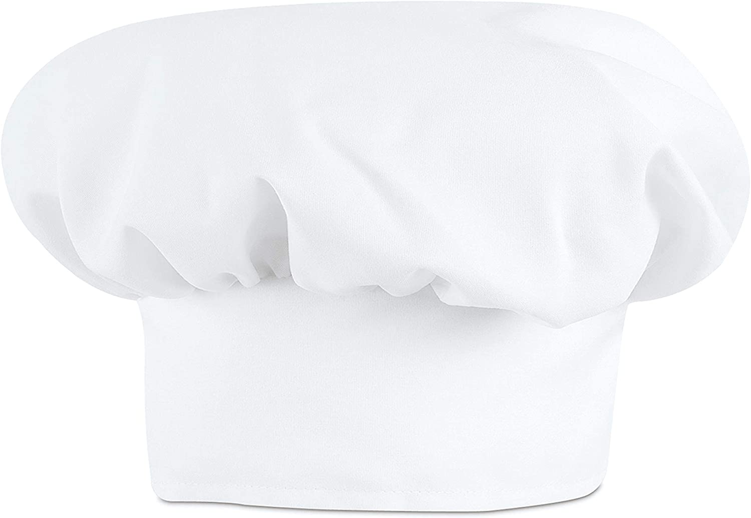 Red Kap Chef DesignsChef Hat, White, Large: Chef Apparel: Clothing