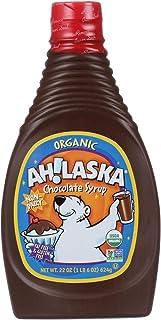 Ahlaska Organic Chocolate Syrup, 22 Ounce - 12 per case.