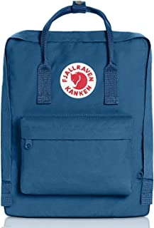 Fjallravens- Kanken Classic backpacks for Everyday,Outdoor Bags,Sweden Laptop,Greenland Zip wallet,Raven,Re-Kanken ,mini,Raven (Glacier Green)